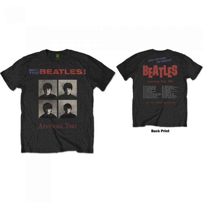 Official Merchandise AMERICAN TOUR 1964 (BACK PRINT)