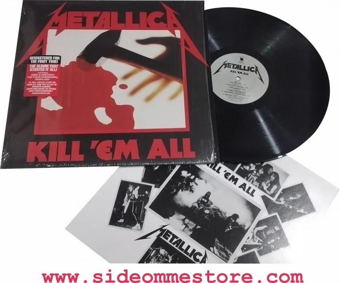 METALLICA - KILL EM ALL Official Merchandise