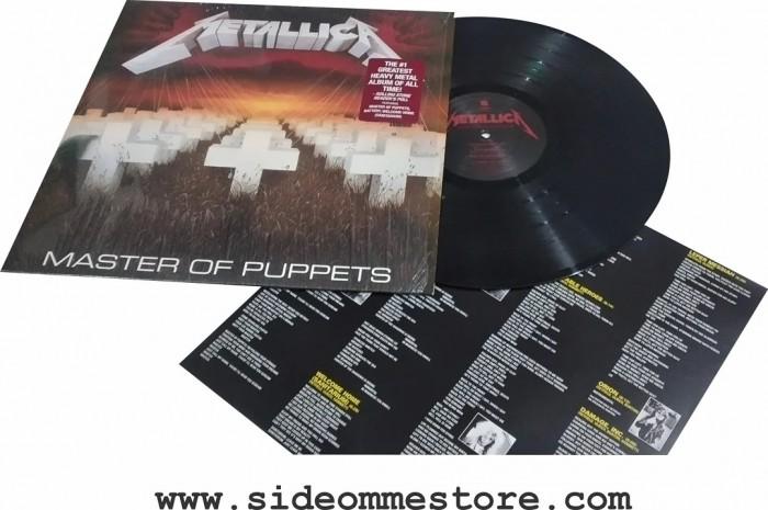 METALLICA - MASTER OF PUPPETS Official Merchandise