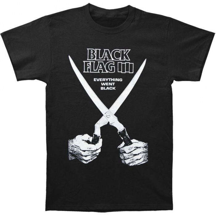 Official Merchandise BLACK FLAG - EVERYTHING WENT BLACK