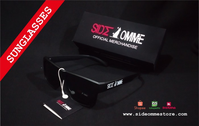 SIDE OMME SUNGLASSES - LOGO Official Merchandise