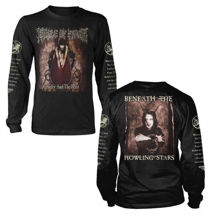 Official Merchandise CRADLE OF FILTH - CRUELTY AND THE BEAST