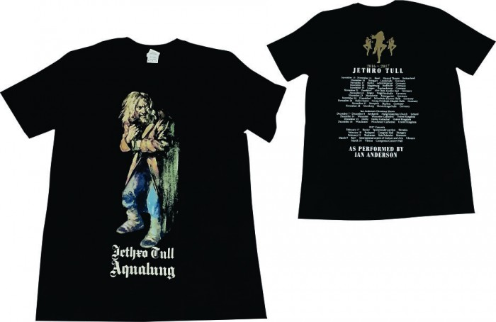 Official Merchandise Aqualung 2016-2017 Tour