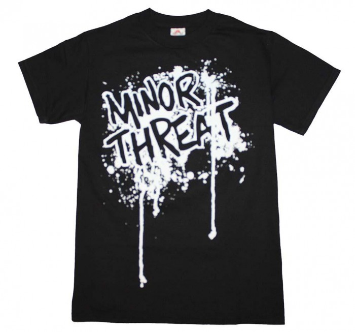 Minor Threat - Featuring The Drip Logo