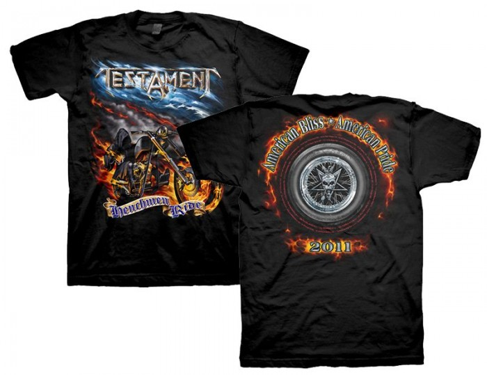 Official Merchandise HENCHMEN RIDE 2010 TOUR