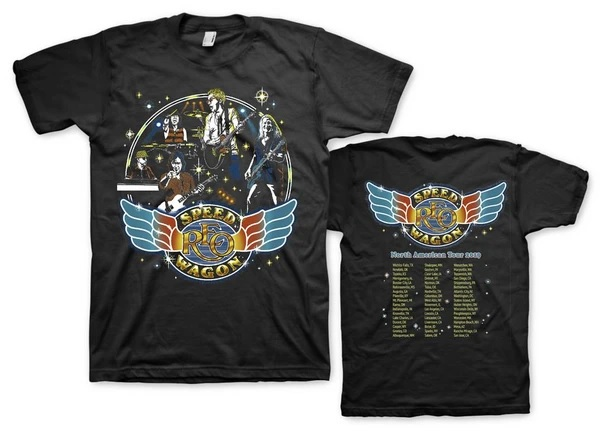 Reo SpeedWagon - 2019 NORTH AMERICAN TOUR TEE