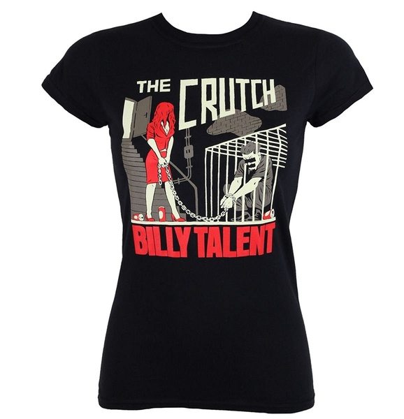 Official Merchandise Women's Crutch T-Shirt