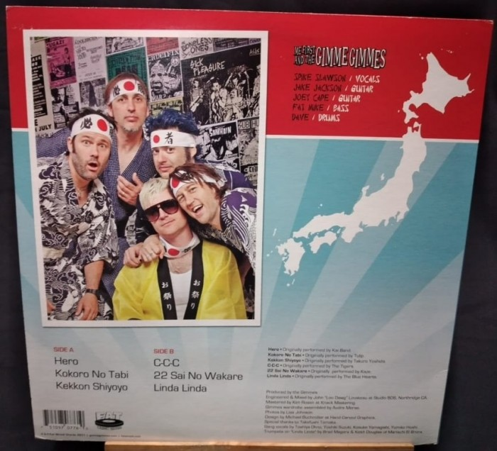 ME FIRST AND THE GIMME GIMMES-SING IN JAPANESE