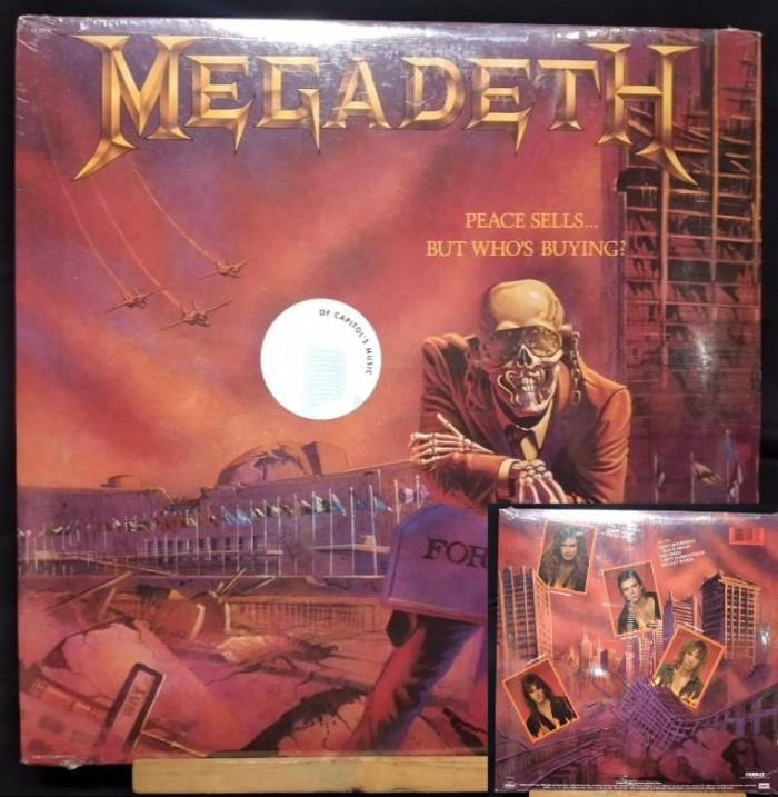 MEGADETH-PEACE SELLS, BUT WHO'S BUYING?