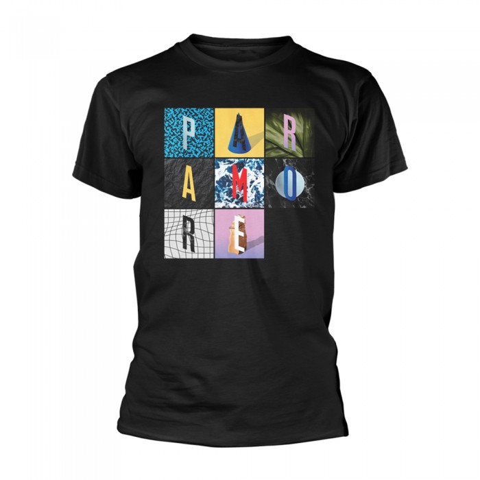 Official Merchandise PARAMORE - TEXTURE BOX GRID