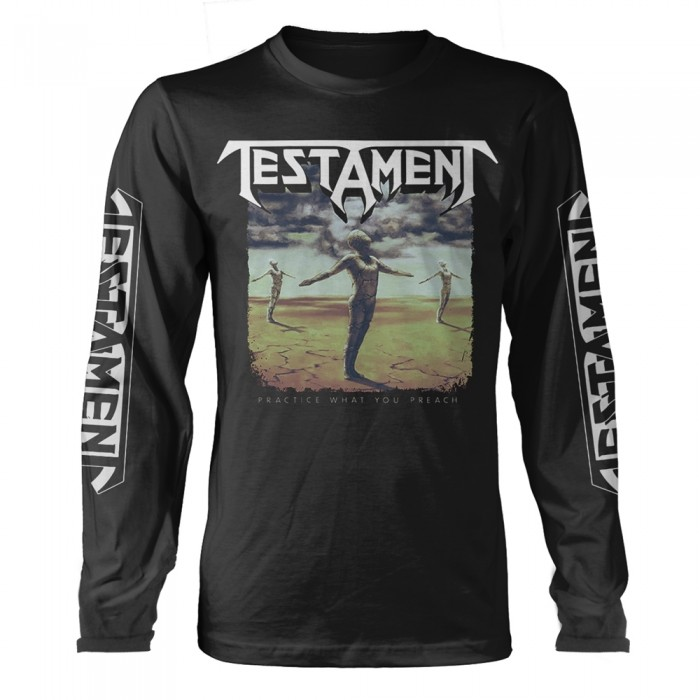 Official Merchandise TESTAMENT - PRACTICE WHAT YOU PREACH