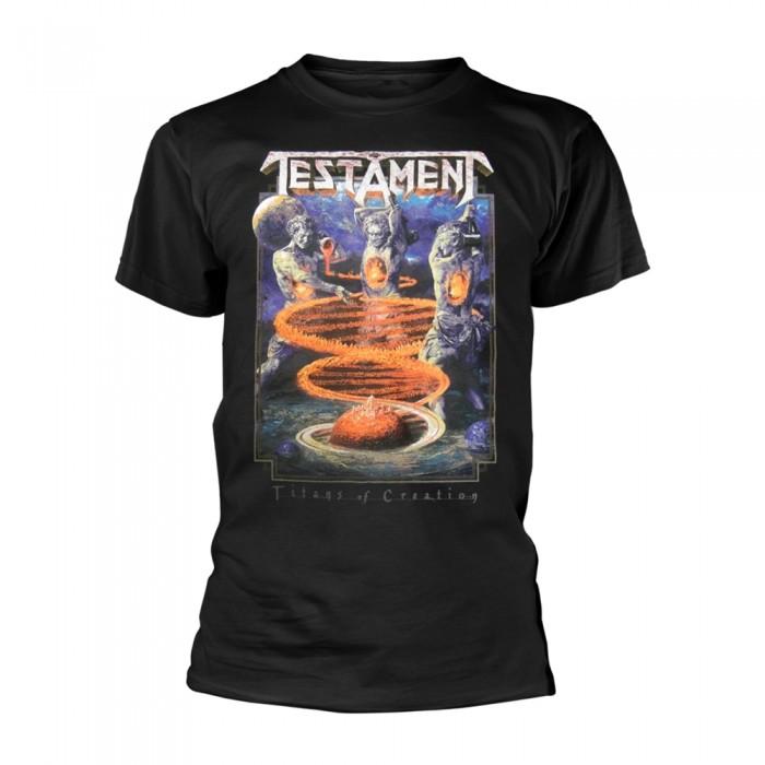 Official Merchandise TESTAMENT - TITANS OF CREATION (COLOUR EUROPE 2020 TOUR)