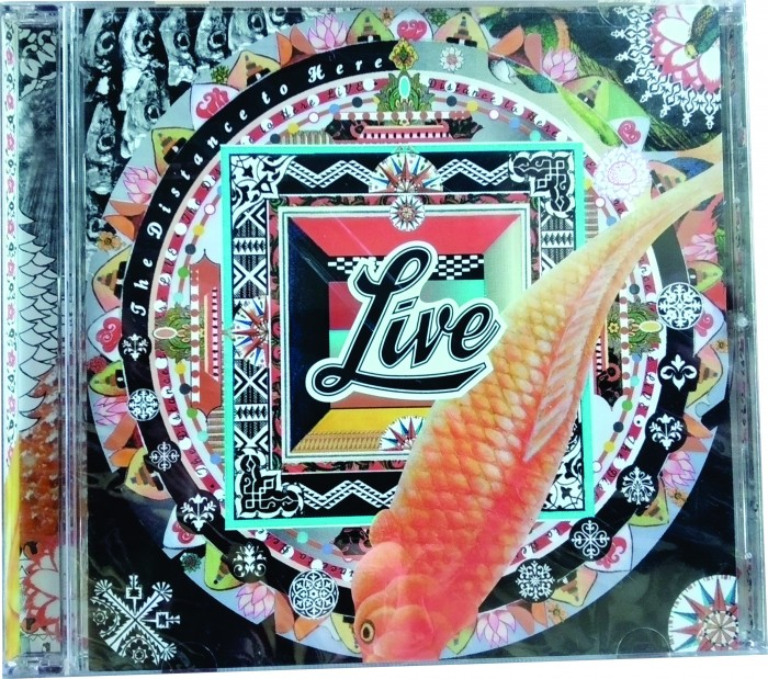 LIVE - THE DISTANCE TO HERE