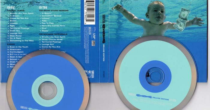 Official Merchandise NIRVANA - NEVERMIND