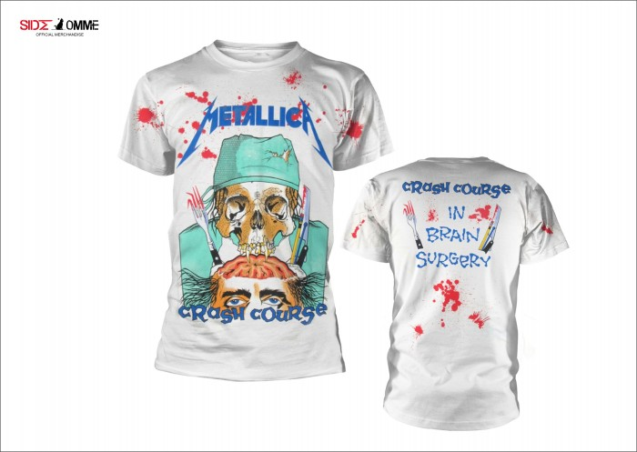 Official Merchandise METALLICA - CRASH COURSE IN BRAIN SURGERY
