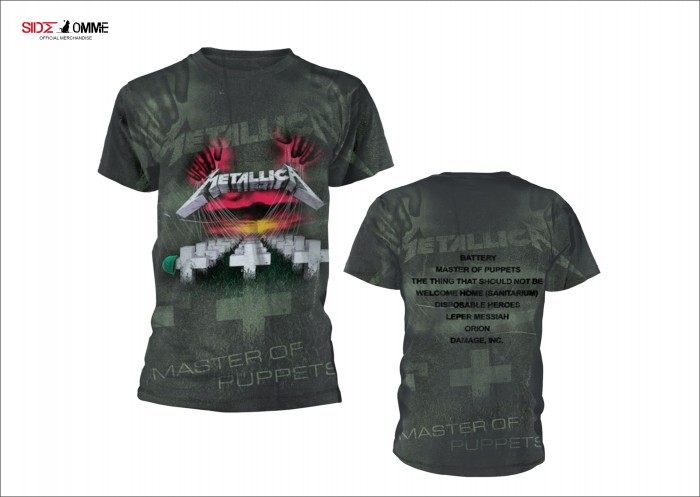 Official Merchandise METALLICA - MASTER OF PUPPETS