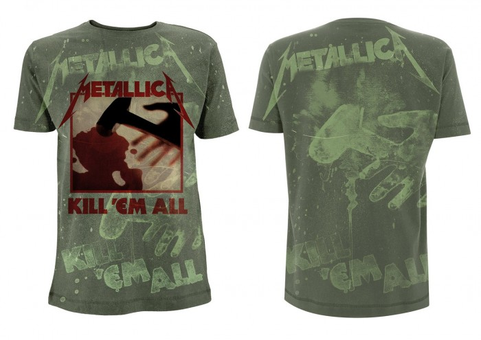 Official Merchandise METALLICA - KILL EM ALL
