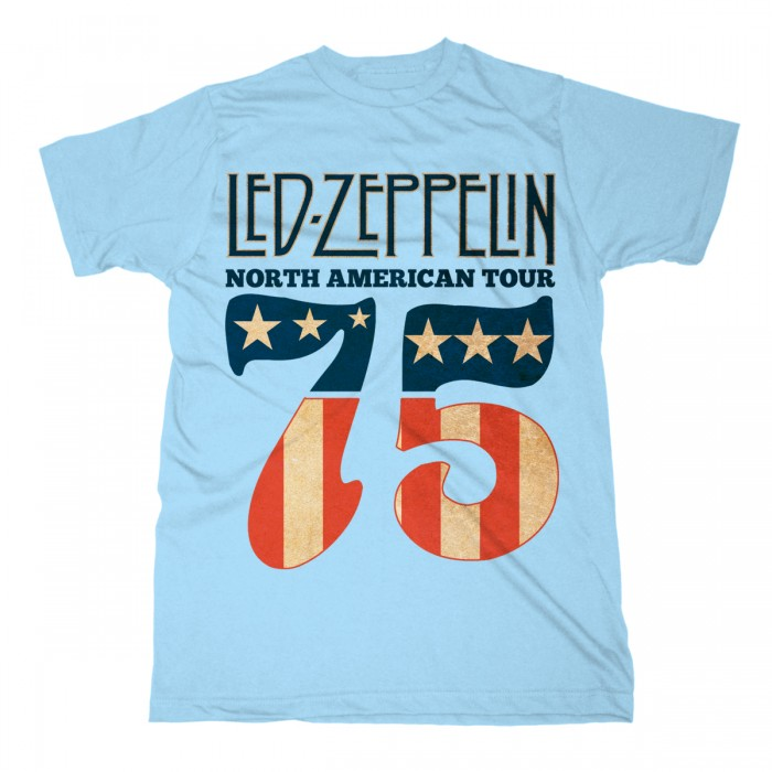 LED ZEPPELIN - 1975 NORTH AMERICAN TOUR Official Merchandise