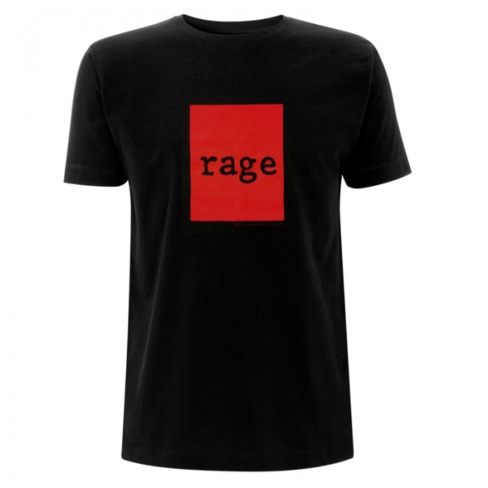 RAGE AGAINST THE MACHINE - RED SQUARE Official Merchandise
