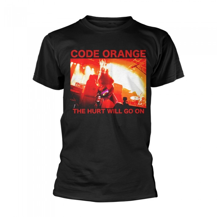 Official Merchandise CODE ORANGE - RED HURT PHOTO