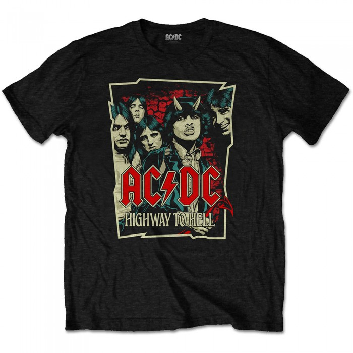 Official Merchandise ACDC - Highway To Hell Sketch