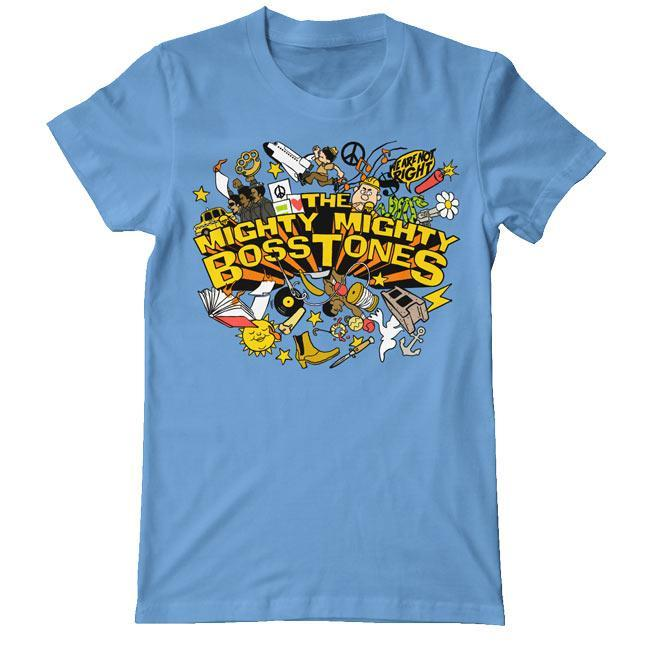 Official Merchandise MIGHTY MIGHTY BOSSTONES WHILE WE'RE AT IT EXPLOSION BLUE